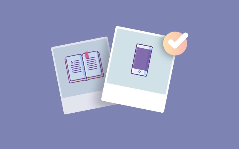 agenda de papel ou agenda digital