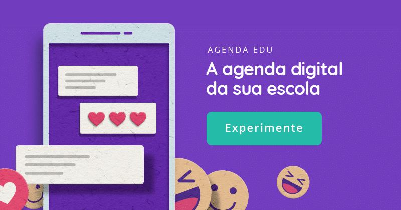 Agenda digital da sua escola