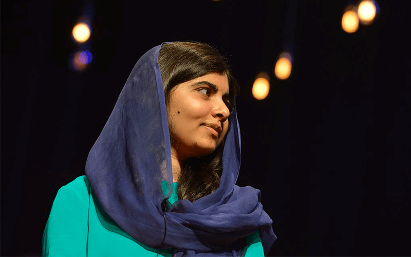 Malala no Brasil: luta pelo direito à educação e igualdade de gênero.