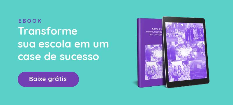 """Ebook """"Como transformar a sua escola em um case de sucesso"""""""