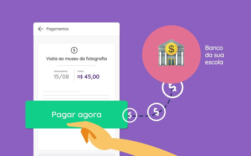 Faça pagamentos escolares utilizando a Agenda Edu 1