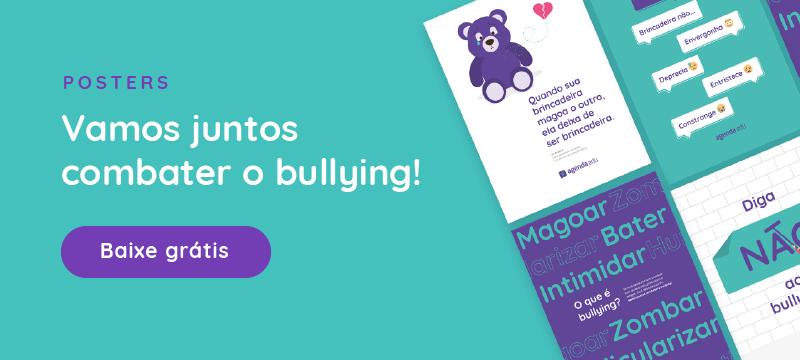 Poster - Combate ao bullying - Baixe grátis