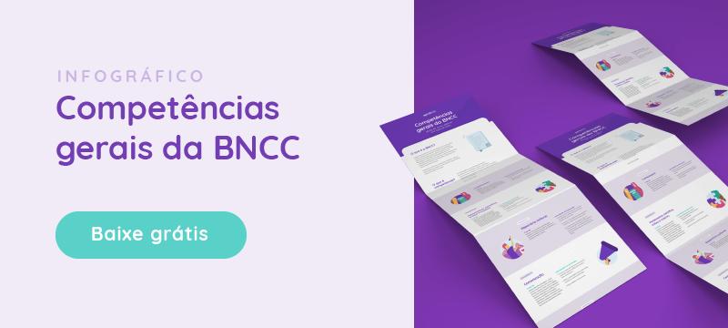 infográfico com as competências gerais da BNCC