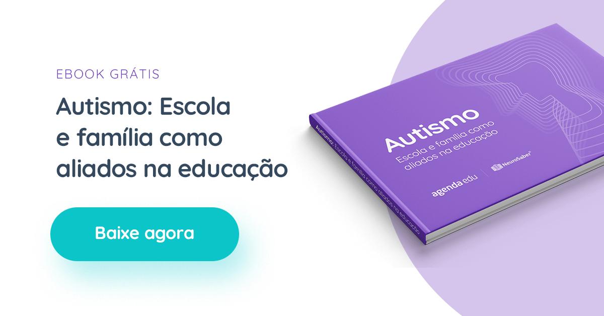 banner do ebook: Autismo: Escola e família como aliados na educação