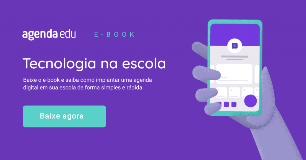 Retomada das aulas: ebook como implantar agenda digital