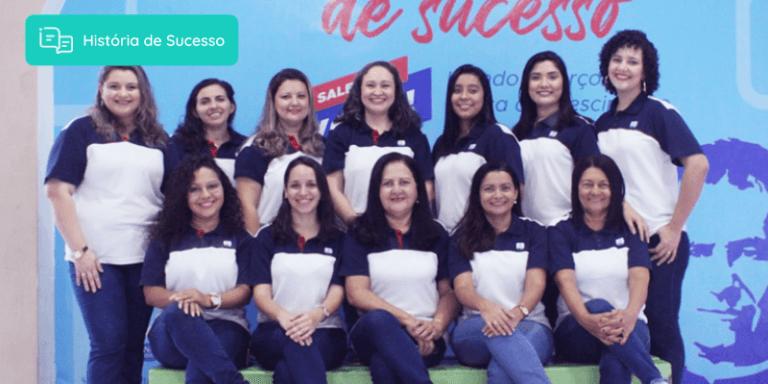 Equipe do Colégio Salesiano Dom Bosco, escola da Rede Salesiana