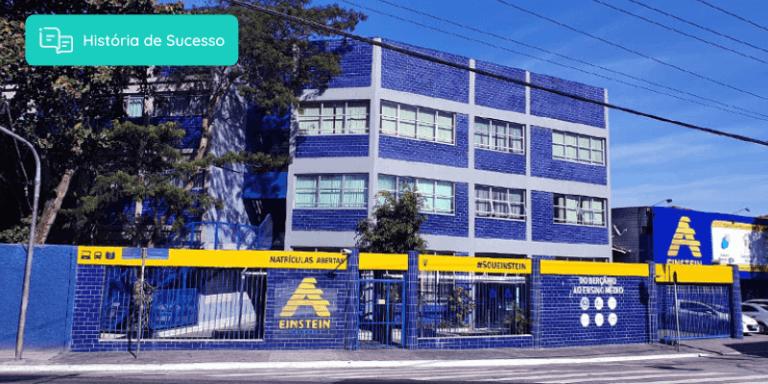 Fachada do Colégio A. Einstein em São Paulo