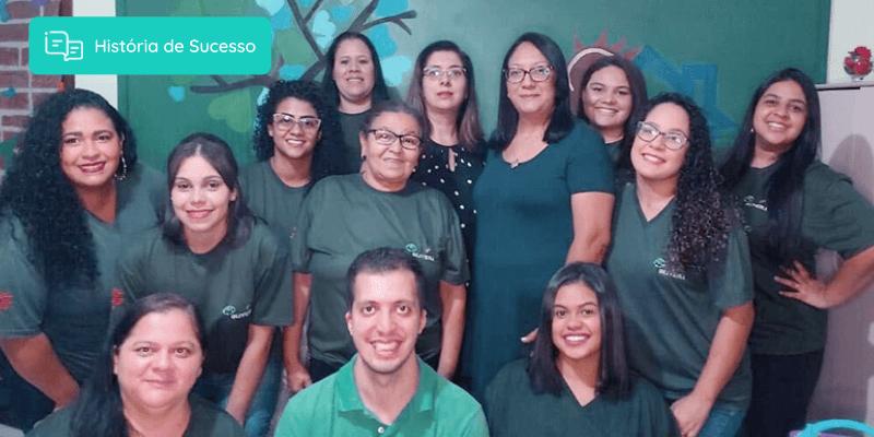 Equipe da Escola de Educação Infantil Oliveira