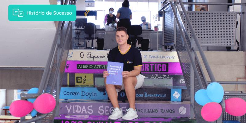 Luís Gustavo Siqueira, marketing do Colégio Villa Lobos