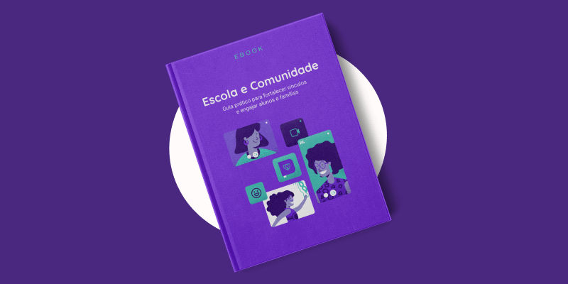 Capa do Ebook Escola e Comunidade