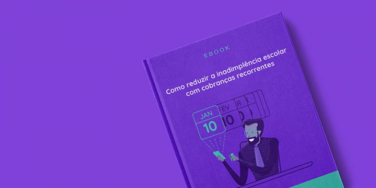 Capa do Ebook como reduzir a inadimplência escolar